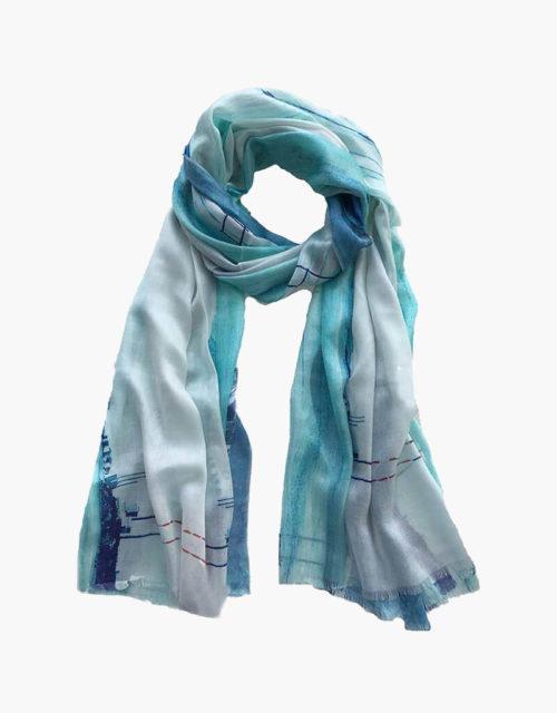 KDK poolbeg print scarf
