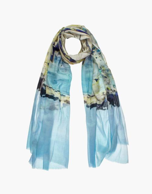 KDK Ibiza print scarf
