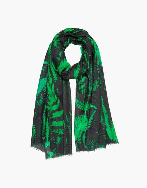 kdk forest fern print scarf