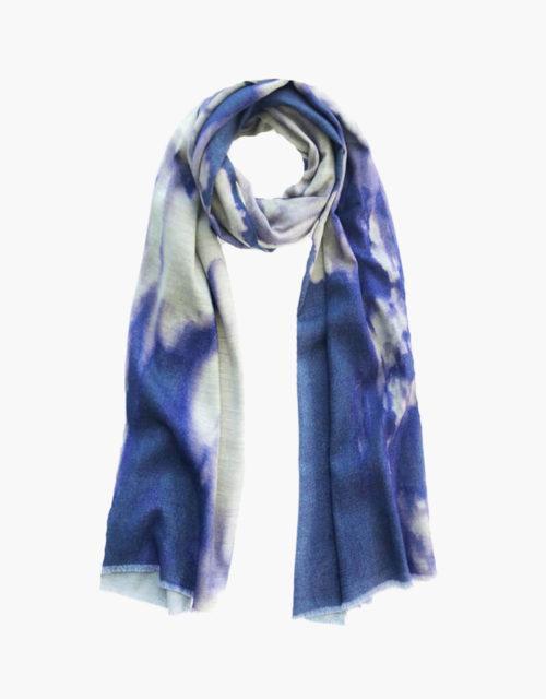 KDK clouds print scarf