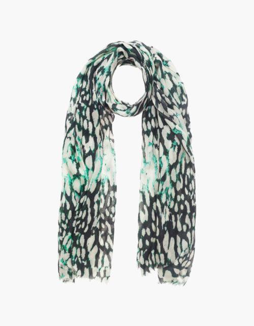 kdk leopard print scarf