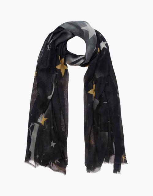 KDK black scarf
