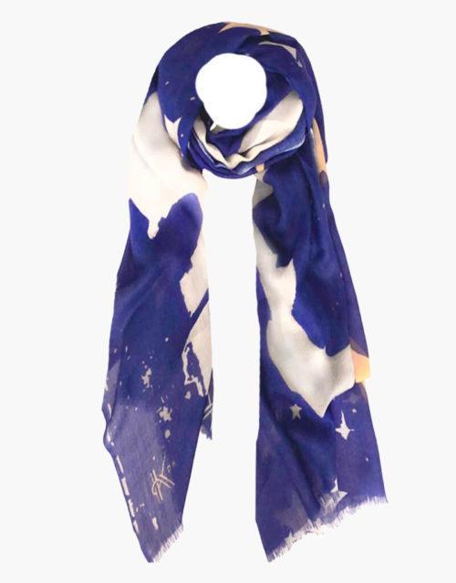 kdk blue star scarf
