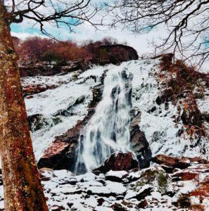 KDK scarves powerscourt waterfall